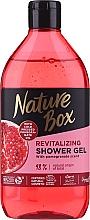 Profumi e cosmetici Gel doccia - Nature Box Pomegranate Oil Shover Gel