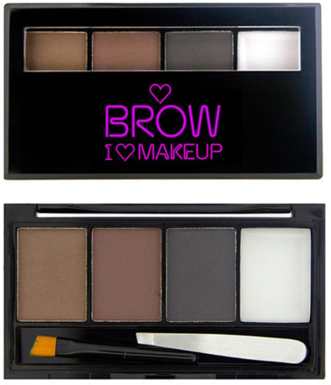 Set pe le sopracciglia - I Heart Revolution Brows Kit