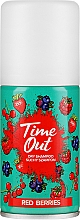 Profumi e cosmetici Shampoo secco - Time Out Dry Shampoo Red Berries