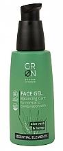 Profumi e cosmetici Gel viso - GRN Essential Elements Aloe Vera & Hemp Face Gel