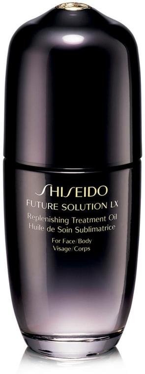 Olio rigenerante viso, corpo, mani e unghie - Shiseido Future Solution Lx Replenishing Treatment Oil — foto N1