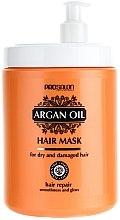 Profumi e cosmetici Maschera con olio di argan - Prosalon Argan Oil Hair Mask