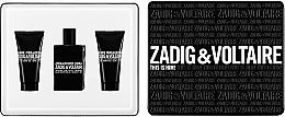 Profumi e cosmetici Zadig & Voltaire This is Him - Set (edt/50ml + sh/g/50ml + sh/g/50ml)