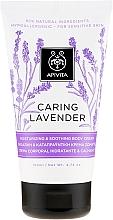 "Profumi e cosmetici Crema idratante e lenitiva per pelli sensibili ""Lavanda"" - Apivita Caring Lavender Hydrating Soothing Body Lotion"