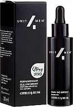Profumi e cosmetici Olio da barba profumato - Unit4Men Citrus&Musk Perfumed Beard Oil