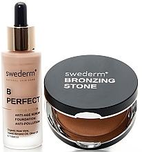 Profumi e cosmetici Set - Swederm (bronzer/13g + found/30ml)