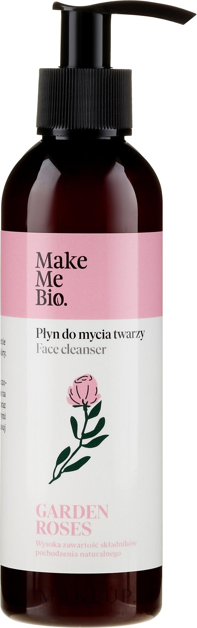 """Detergente viso """"Rosa"""" - Make Me Bio Garden Roses Face Cleanser — foto 200 ml"""
