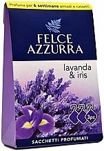 "Profumi e cosmetici Bustina aromatica ""Lavanda e Iris"" - Felce Azzurra Sachets Lavender and Iris"