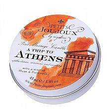 Profumi e cosmetici Candela da massaggio al muschio e patchouli - Petits JouJoux Mini A Trip To Athens