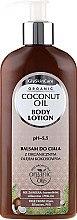 Profumi e cosmetici Lozione corpo, con cocco organico - GlySkinCare Coconut Oil Body Lotion