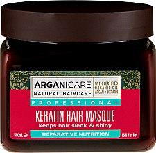 Profumi e cosmetici Maschera alla cheratina per tutti i tipi di capelli - Arganicare Keratin Nourishing Hair Masque