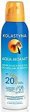 Profumi e cosmetici Spray idratante solare - Kolastyna Aqua Aksamit SPF 20
