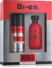 Profumi e cosmetici Bi-Es Ego Red Edition - Set (edt/100ml + deo/150ml)