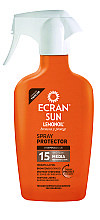 Profumi e cosmetici Latte-spray solare - Ecran Sun Lemonoil Sun Spray Spf15