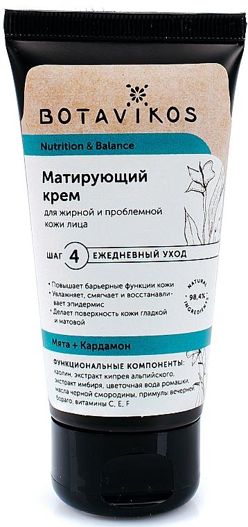 """Crema per pelli grasse e problematiche """"Nutrizione ed equilibrio"""" - Botavikos — foto N3"""