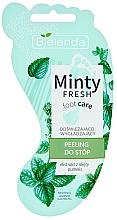 Profumi e cosmetici Scrub piedi rinfrescante e levigante - Bielenda Minty Fresh Foot Care Refreshing & Smoothing Foot Peeling