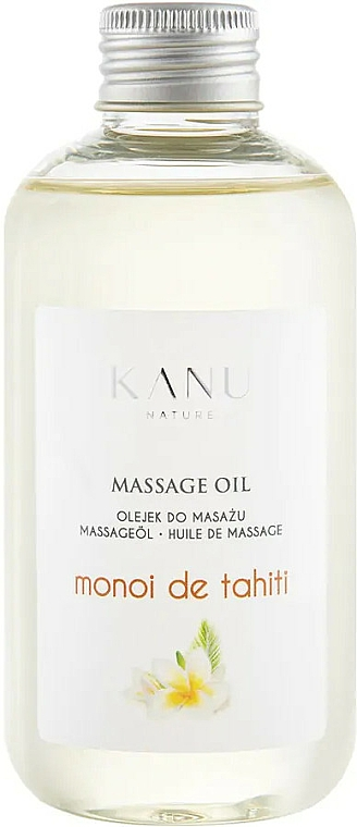 "Olio da massaggio ""Monoi de Tahiti"" - Kanu Nature Monoi de Tahiti Massage Oil"