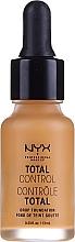 Profumi e cosmetici Fondotinta - NYX Professional Makeup Total Control Drop Foundation