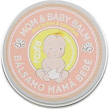 Profumi e cosmetici Balsamo per mamma e bambino - Roofa Calendula & Panthenol Mom & Baby Shea Butter & Calendula Balm