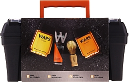 Profumi e cosmetici Set - Wars (ash/lot/90ml + sh/cr/65ml + edc/90ml + sh/brush + case)