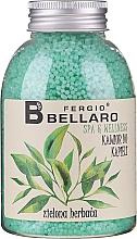"""Profumi e cosmetici Palline da bagno ammorbidenti """"Tè verde"""" - Fergio Bellaro Green Tea Bath Caviar"""