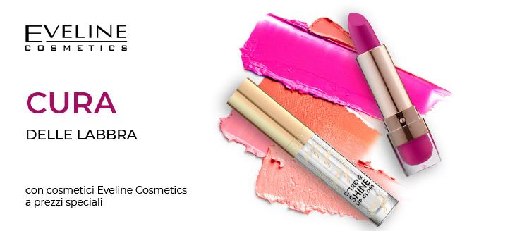 Sconto del 5% su prodotti selezionati per il trucco delle labbra di Eveline Cosmetics. I prezzi sul sito sono già scontati