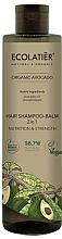 Profumi e cosmetici Shampoo-balsamo per capelli 2 in 1 - Ecolatier Organic Avocado Hair-Shampoo Balm