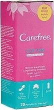 Profumi e cosmetici Assorbente giornaliere igieniche, 20pz - Carefree Cotton Unscented Pantyliners