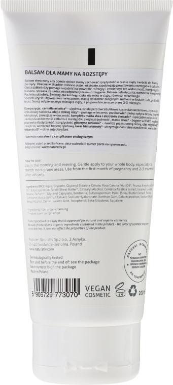 Balsamo anti-smagliature - Naturativ Anti-stretch Mark Balm For Mum — foto N2