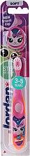 Profumi e cosmetici Baby toothbrush Step 2 (3-5 anni) morbido, color salmone - Jordan
