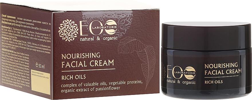 """Crema nutriente """"Rich Oil"""" - Eco Laboratorie Face Cream"""
