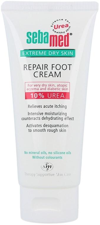 Crema per i piedi, pelli molto secche - Sebamed Extreme Dry Skin Repair Foot Cream 10% Urea