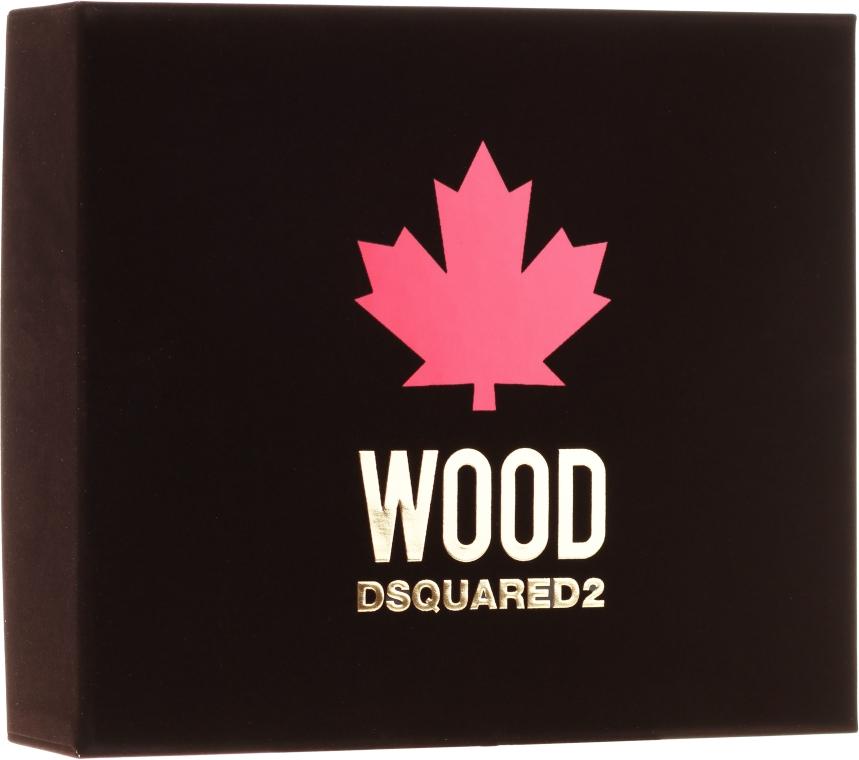 Dsquared2 Wood Pour Homme - Set (edt/50ml + sh/gel/50ml + ash/b/50ml) — foto N1