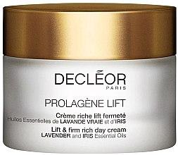 Profumi e cosmetici Crema viso da giorno - Decleor Prolagene Lift Lift & Firm Rich Day Cream Lavender and Iris