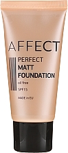 Profumi e cosmetici Fondotinta opacizzante - Affect Cosmetics Perfect Matt Foundation (F-0002)