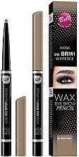 Profumi e cosmetici Matita-Cera per sopracciglia - Bell Wax Eye Brow Pencil