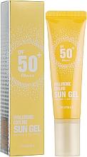 Profumi e cosmetici Gel solare per corpo - Deoproce Hyaluronic Cooling Sun Gel