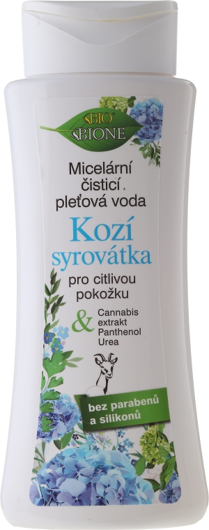 Acqua micellare - Bione Cosmetics Goat Milk Micellar Cleansing Water