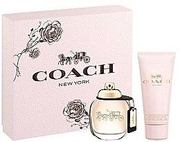 Profumi e cosmetici Coach New York Eau De Parfum - Set (edp/50ml + b/lot/100ml)