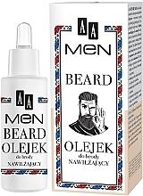Profumi e cosmetici Olio barba idratante - AA Men Beard Oil