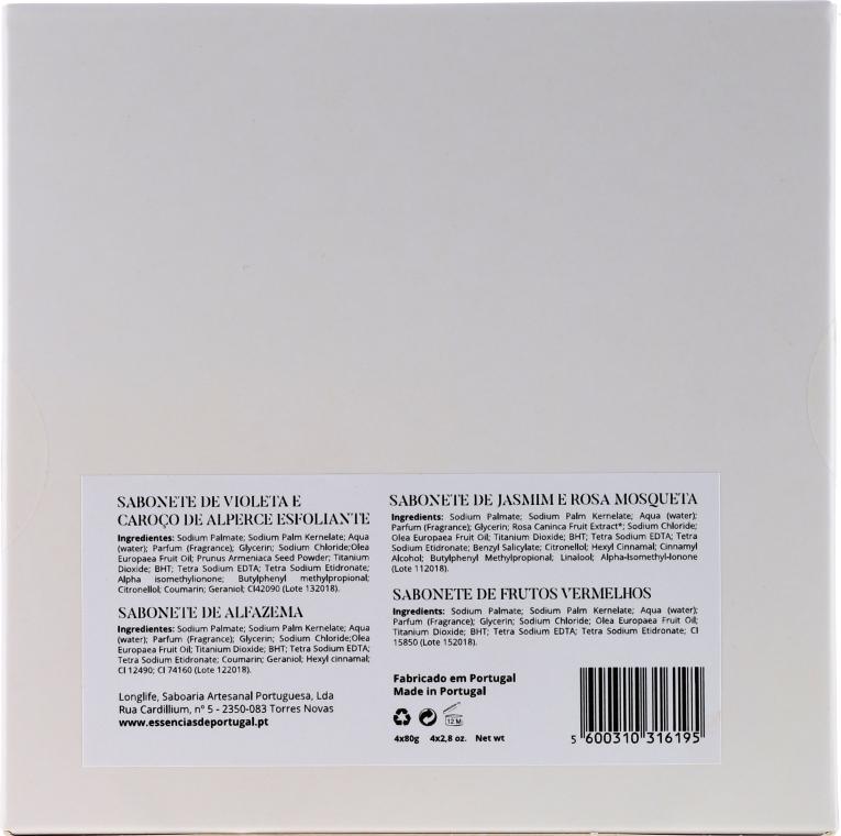 Set - Essencias De Portugal Aromas Collection (soap/4x80g) — foto N2