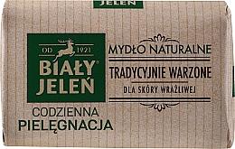 Profumi e cosmetici Sapone naturale ipoallergenico - Bialy Jelen Hypoallergenic Natural Soap Premium