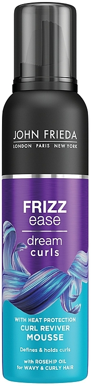 Mousse per fare riccioli - John Frieda Frizz-Ease Curl Reviver Styling Mousse