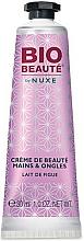 """Profumi e cosmetici Crema per mani e unghie """"Latte di fichi"""" - Nuxe Bio Beauty Hands and Nails Cream Fig Milk"""
