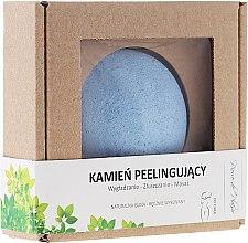 Profumi e cosmetici Pietra naturale per il peeling del corpo, blu - Pierre de Plaisir Natural Scrubbing Stone Body