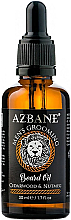 "Profumi e cosmetici Olio da barba ""Cedro e noce moscata"" - Azbane Bean Oil With Cedarwood And Nutmeg Oil"