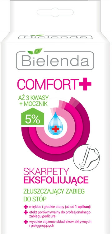 Calze esfolianti con effetto peeling - Bielenda Comfort Exfoliating Socks