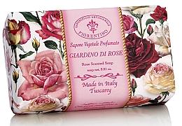 """Profumi e cosmetici Sapone naturale """"Roseto"""" - Saponificio Artigianale Fiorentino Rose Garden Scented Soap"""