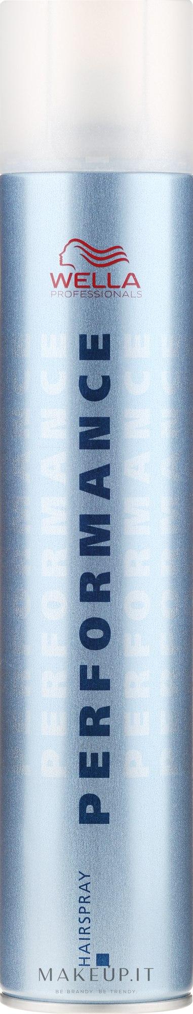Lacca capelli, fissazione forte - Wella Professionals Performance Hair Spray — foto 500 ml