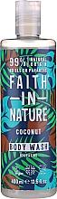 Profumi e cosmetici Gel doccia - Faith in Nature Coconut Body Wash